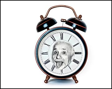 Einstein-clock-change